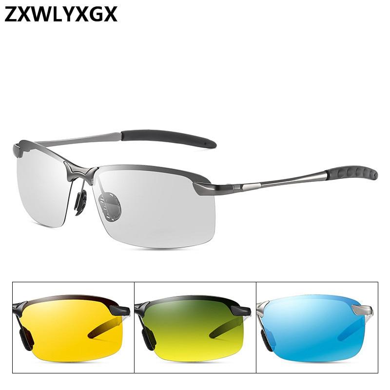 AliExpress - Classic Driving Photochromic Sunglasses Men Brand Polarized Chameleon Discoloration Sun glasses for men Anti-glare Goggles