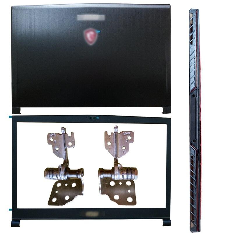 جديد محمول LCD الغطاء الخلفي/الإطار الأمامي/مفصلات/مفصلات غطاء ل MSI GS73 GS73VR 3077B5A213 3077B1A222