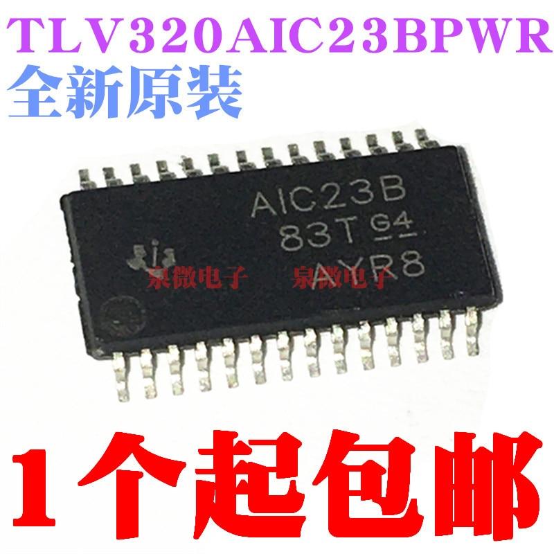 100% novo & original tlv320aic23b tlv320aic23bpwr marcação aic23b tssop28 em estoque
