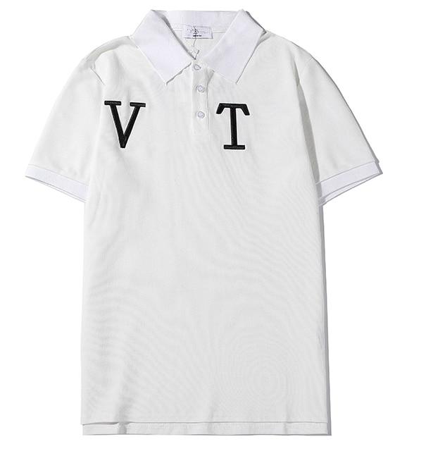 Nueva camiseta POLO DSENDQI con estampado de hojas de arce informal Unisex Cool VALENT A6456