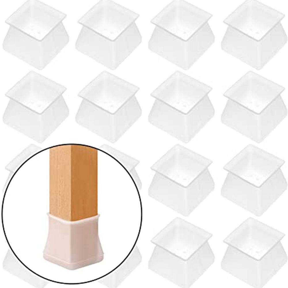 VIP  Silicon Furniture Leg Protection Cover Table Feet Pad Floor Protector for Home Chair Leg Floor Protection Anti-slip
