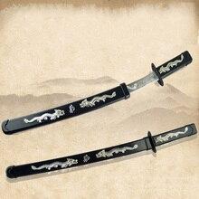 Хэллоуин реквизит для косплея части японский нож ниндзя нож реквизит воин игрушки нож пластик слишком игрушки нож