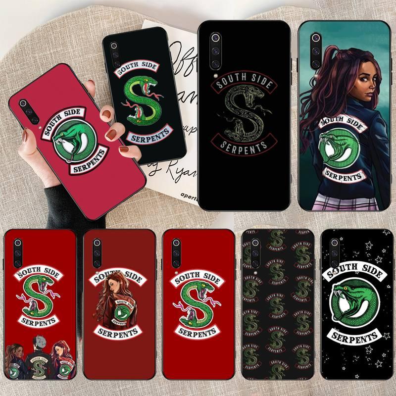 CUTEWANAN Riverdale, recién llegado, carcasa negra para teléfono móvil para Redmi Note 8 8A 7 6 6A 5 5A 4 4X 4A Go Pro Plus Prime