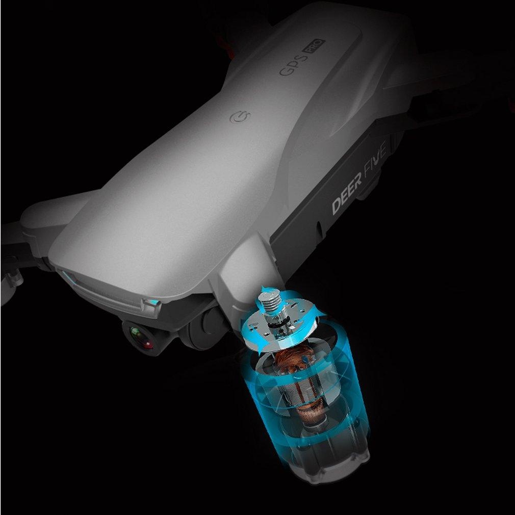 LU5 PRO Drone 4K Camera Dual Camera GPS Altitude Hold Headless Mode WiFi FPV Brushless Motor Drone 4K Professional enlarge