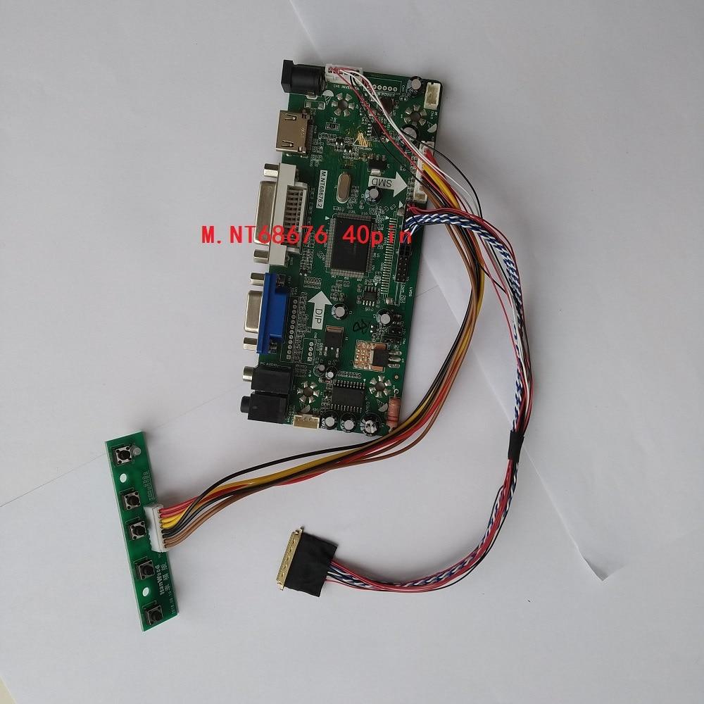 Para LP156WH4 (TL) (D1)/LP156WH4 (TL) (D2) Pantalla de 1366X768 M NT68676 HDMI DVI VGA LCD LED controlador de DIY