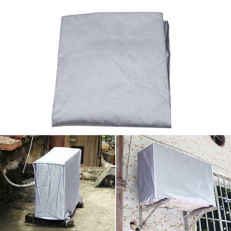 Neu Klimaanlage Abdeckung Anti-Staub Anti-Schnee Wasserdichte Sunproof Conditioner Protektoren für Outdoor