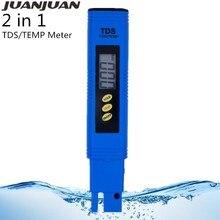 10 pièces/lot nouveau numérique TDS mètre testeur poche Aquarium piscine eau vin Urine LCD stylo moniteur titane alliage sonde 20% OFF