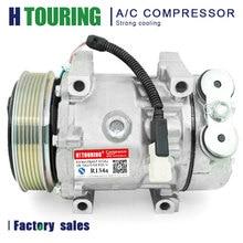 Sd7v16 auto ac kompressor für Peugeot 206 306 406 806 607 807 für Citroen C5 C8 9645306580 6453CL 9626902180 6453JF 1237 1211 6PK