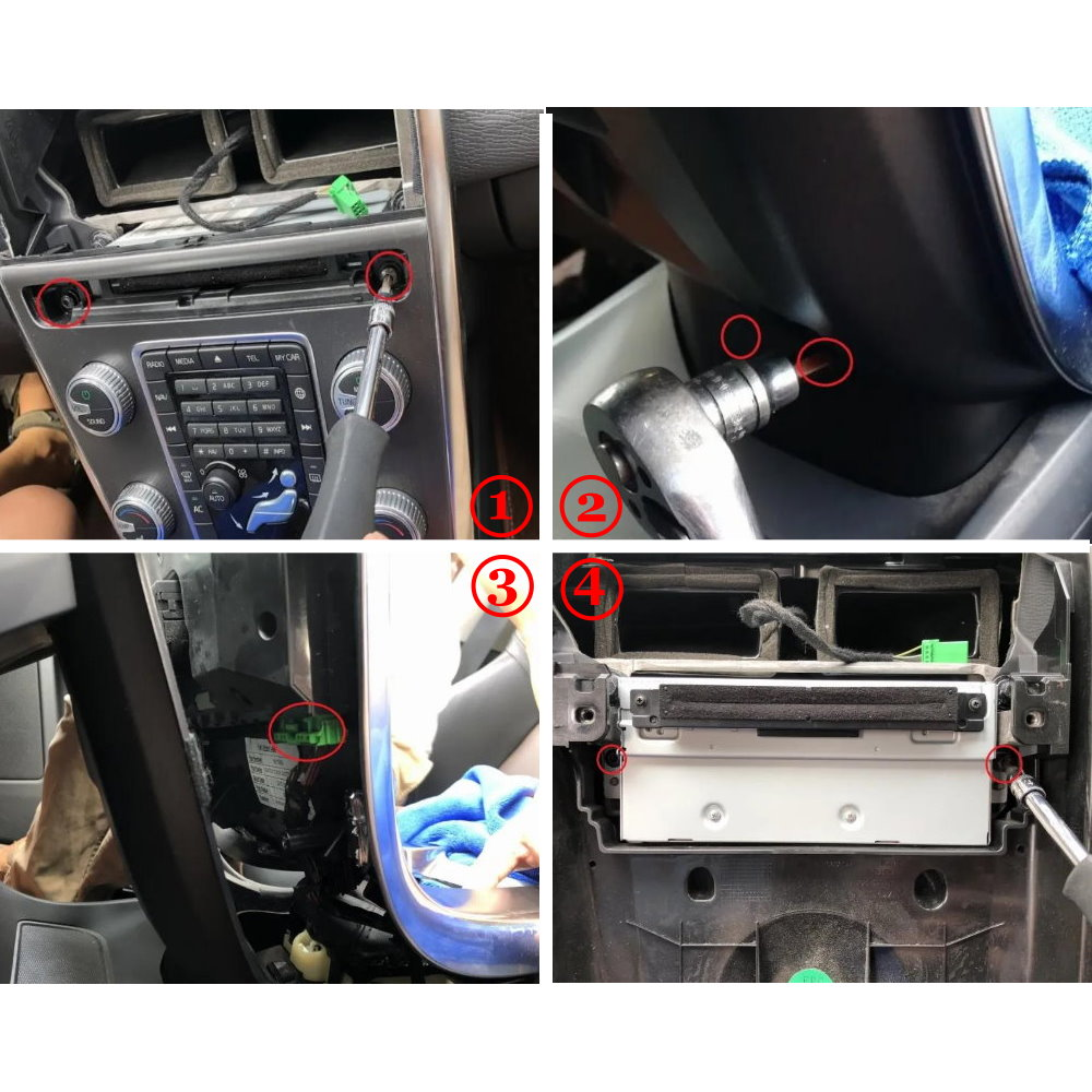 Car Reverse Parking Rear View Backup Camera For Volvo V40 2015 2016 2017 2018 2019 2020 HD Interface Improve Decoder