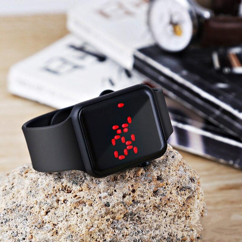 Sport Digital Watch Women Men Square LED Watch Silicone Electronic Watch Women's Watches Clock relogio feminino digital reloj enlarge