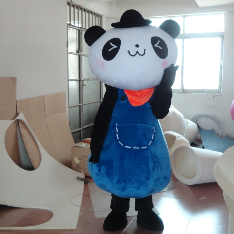 Panda Mascot Costume Suits Cosplay Party Game Dress Outfits Advertising Promotion Carnival Halloween Xmas Adults Fursuit