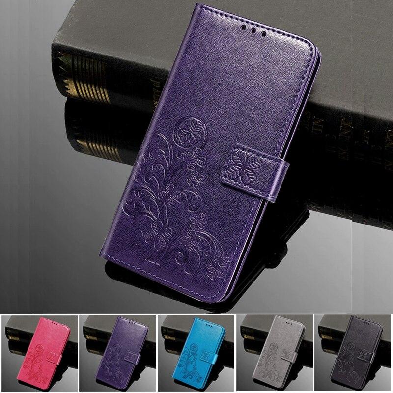 Funda de teléfono para Alcatel 1X 2018, 5059A, 5059D, 5059X, 5059Y, 2019, 5008Y, funda abatible de lujo de cuero con billetera, funda de libro con soporte para teléfono