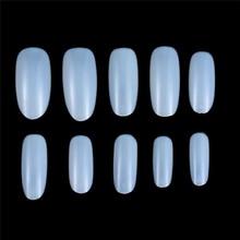 100 stücke Kurze Weiß Falsche Acryl Nagel Tipps Nail art Gefälschte Falsche Tipps Finger Aufkleber Verlängerung Werkzeug Poly Gelee Gel nägel Nagel Werkzeug