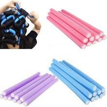Wholesale 50/20/10pcs Lot Curler Makers Soft Foam Bendy Twist Curls DIY Styling Hair Rollers Tool fo