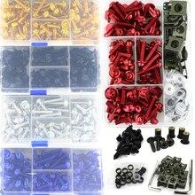 Kit de fixation de boulons de carpette   Kit de vis de fixation complète pour SUZUKI GSXR600 GSXR750