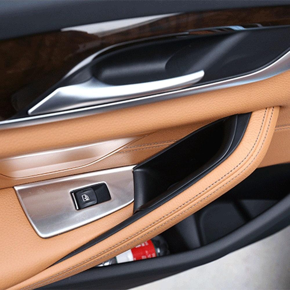 Organizador de la consola de la caja del reposabrazos de la puerta delantera para BMW 5 Series G30 530I 2017-2019