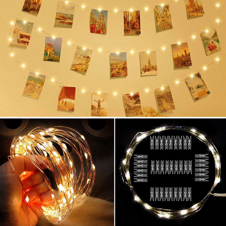 10м USB фестоны жарықдиодты жарық - Мерекелік жарықтандыру - фото 6
