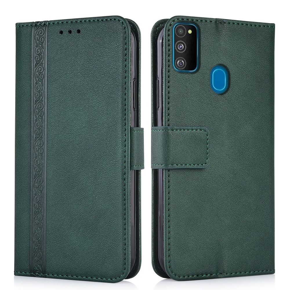 Funda de cuero tipo billetera para Samsung Galaxy M30s M 30 s, funda trasera para teléfono Samsung M30s M30 s M307F