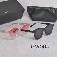 2020 new fashion brand design gentle gw004 sunglasses women men acetate polarized uv400 sun glasses with original box