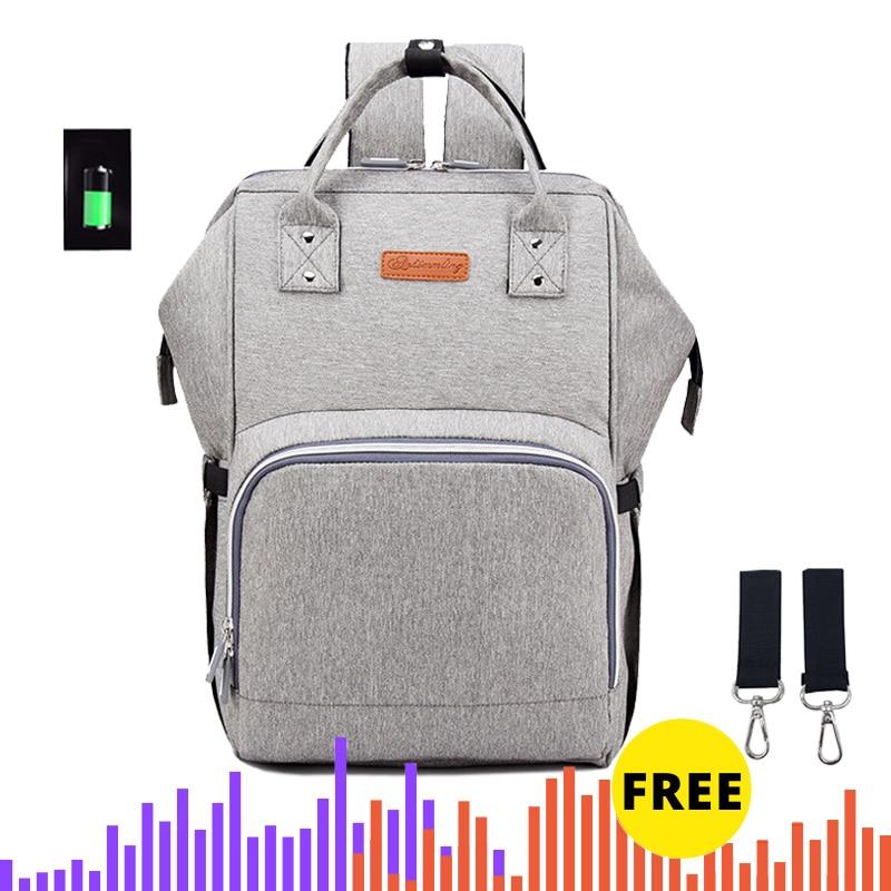 Рюкзак для мам ANKOMMLING, большой, для подгузников, для путешествий