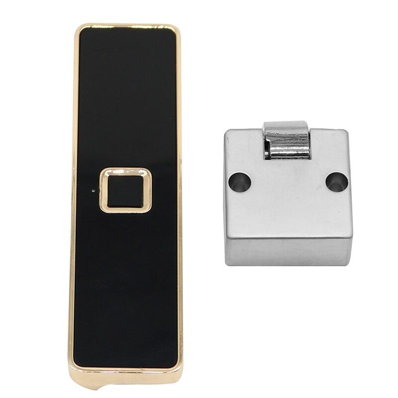 قفل ذكي للأدراج ، قفل ببصمة الإصبع مع شحن USB ، يفتح قفل سبائك الزنك البيومترية للأدراج الكهربائية