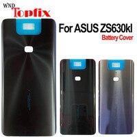 Новая крышка 6,4 дюйма для Asus Zenfone 6 ZS630KL, задняя крышка батарейного отсека для ASUS ZS630KL, задняя крышка батарейного отсека