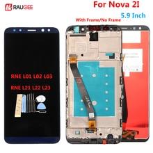 Pour huawei Nova 2I LCD écran tactile Test bon numériseur assemblée panneau de remplacement pour Huawei Nova 2i RNE-L22/L01/02/03