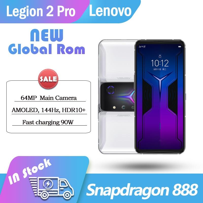 Original Global Rom Lenovo Legion 2 Pro 5G Smartphone Snapdragon888 6.92