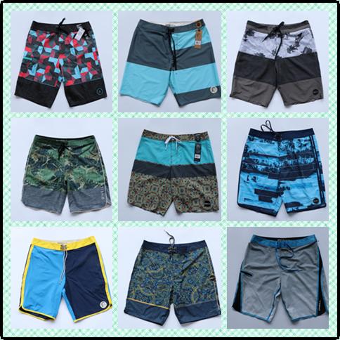 Original Exported Brand Good quality men swimwear boardshorts quick dry causl shorts