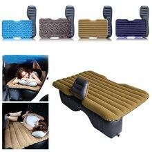 Matelas gonflable HWC de voyage dair de voiture   Lit universel pour siège arrière, canapé multifonctionnel, oreiller de Camping en plein Air, coussin HWC