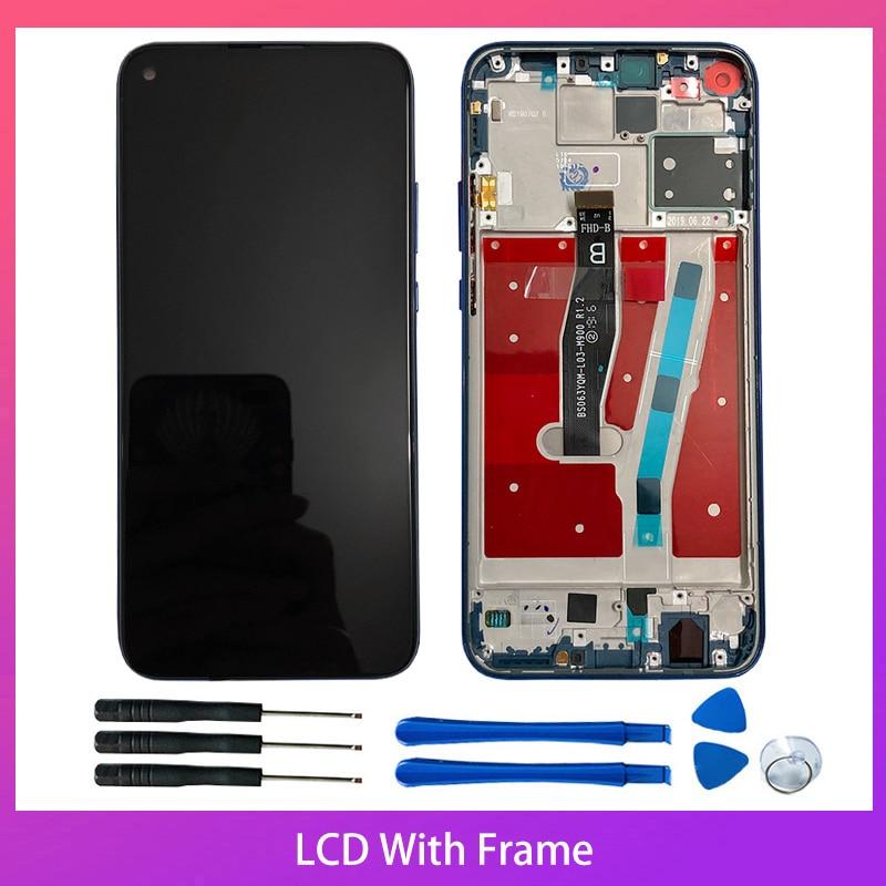 6,26 100% Original para Huawei Nova 5i Pro pantalla LCD 10-montaje de digitalizador con pantalla táctil piezas de repuesto
