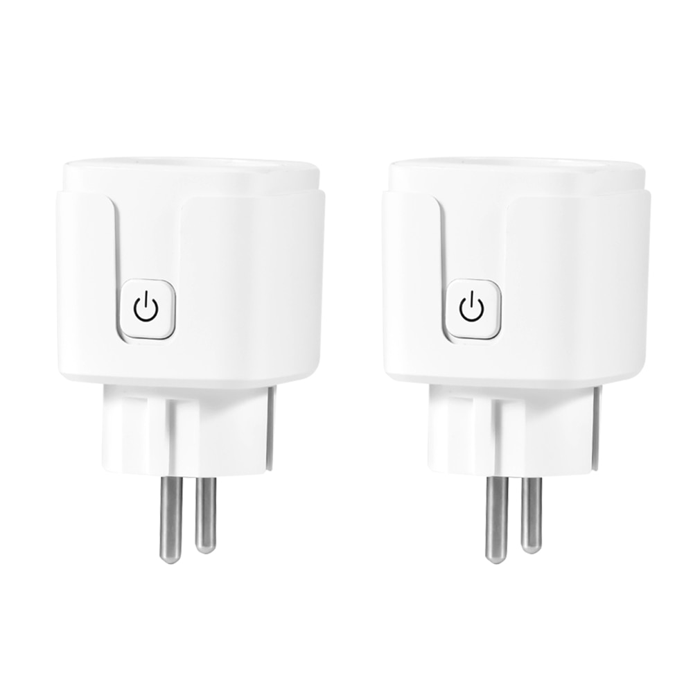 Enchufe WiFi enchufe inteligente toma de Control inalámbrico hogar inteligente RC toma de corriente Control de voz adaptador interruptor WiFi enchufe