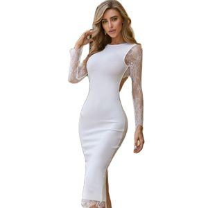 Summer Sexy Striped Slim Bodycon Dress Women Elegant Ladies Off Shoulder Bandage Evening Party Long Maxi Dresses