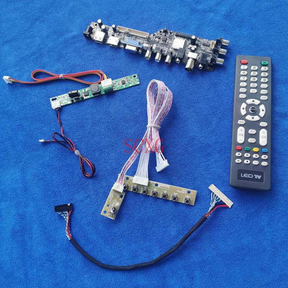 ل M280HKJ-L30/M280HKJ-L50 HDMI متوافق USB VGA AV الرقمية إشارة LVDS 30 دبوس لتقوم بها بنفسك عدة رصد محرك مجلس 1920*1080 LCD/LED