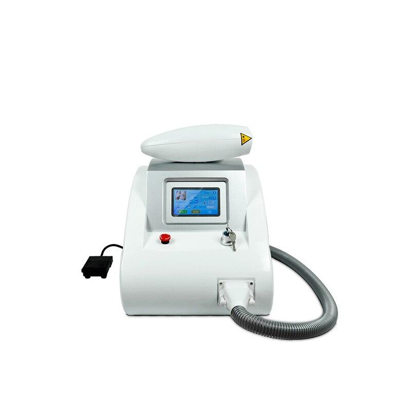 Máquina de eliminación de tatuajes láser multifunción q switched nd yag para eliminación de pecas y peeling de carbono rejuvenecimiento de la piel