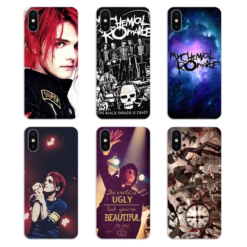 Ультра тонкий чехол Gerard Way My Chemical Romance MCR Music Band для Samsung Galaxy A5 A6 A7 A8 A9 J4 J5 J7 J8 2017 2018 Plus Prime