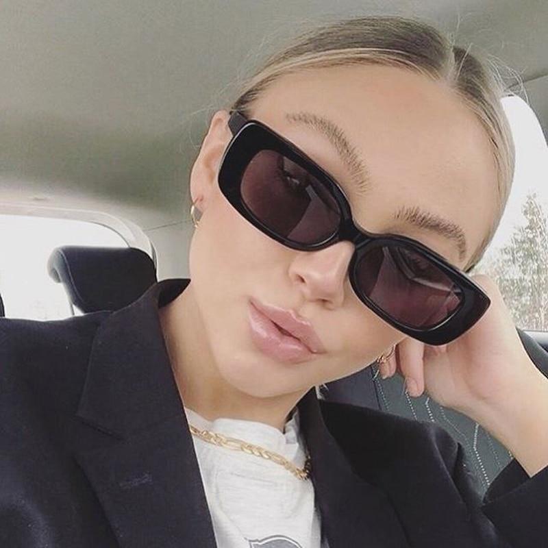 Vintage Square Sunglasses Women Brand Designer Retro Sun Glasses Male Rectangle Female Eyewear Small