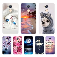 Phone  Case  For Huawei Honor 6A 6X 6C Pro Soft Silicone TPU Cute Cat Painted Back Cover For Huawei