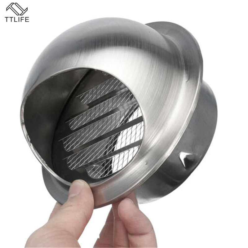 AliExpress - TTLIFE Stainless Steel Wall Ceiling Air Vent Ducting Ventilation Exhaust Grille Cover Outlet Heating Cooling Vent Cap Waterproof