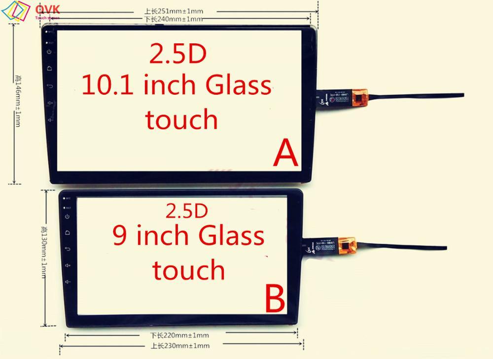 2.5D стеклянной сенсорной CS-CTP10182-A GPS внешний экран навигации автомобиля экрана планшетного компьютера
