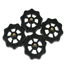 4 Uds 3D impresora accesorios actualizado mano grande giro de nivelación automática nueces para Creality CR-10 CR-10S Mini Ender 3 3D impresoras