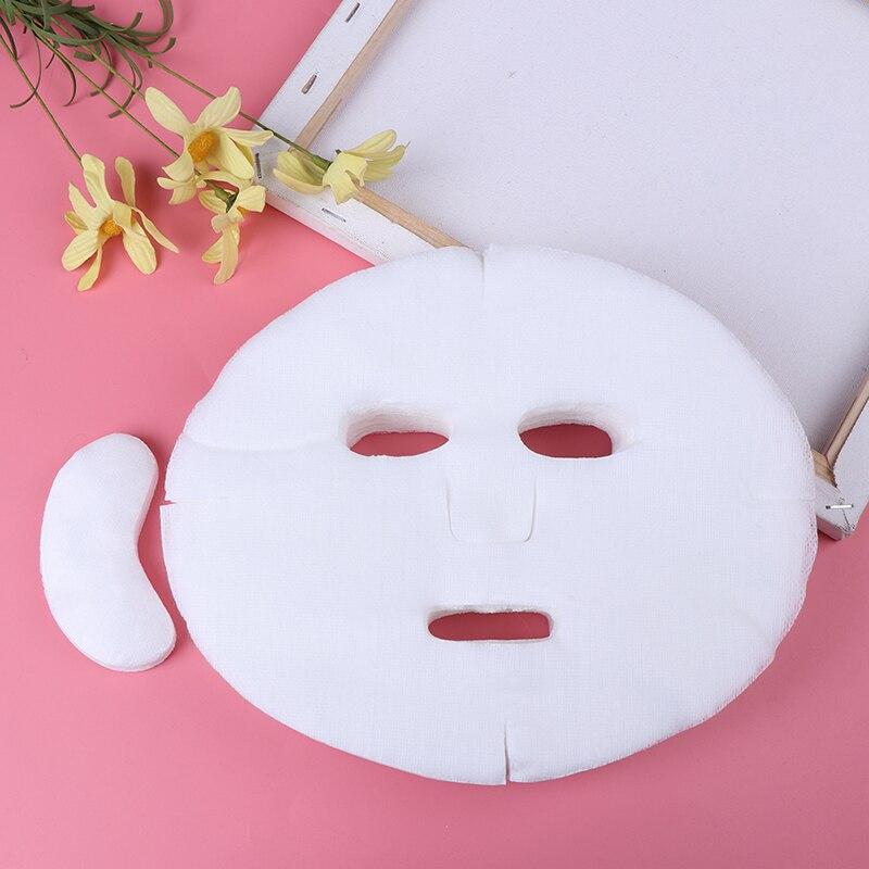 Мягкая Нетоксичная одноразовая маска для лица «сделай сам», листы, косметические инструменты, дышащая хлопковая маска для лица, листы, бума...