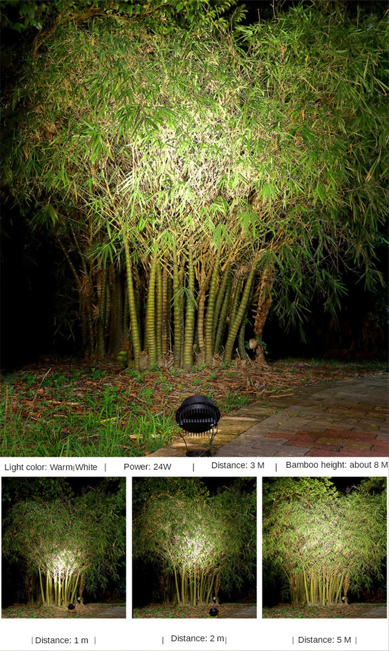 Tree Light Projector Led Decoration Lights Underground Light Led Landscape Lights RGB 12V 24V 220V 24W 36W IP65 Waterproof Lamp enlarge