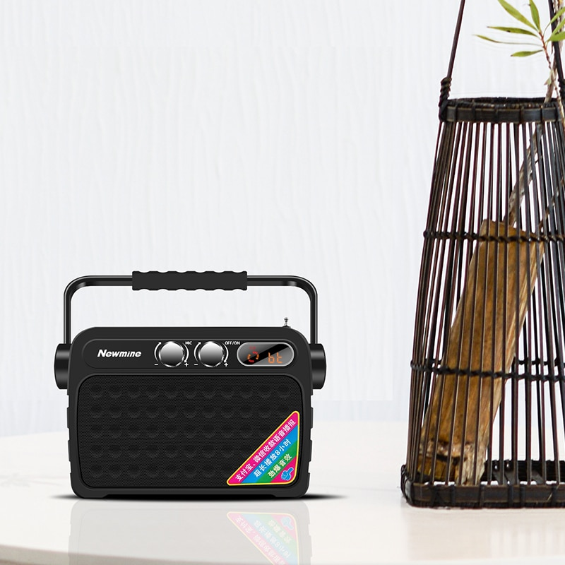 Newmine K92 Small Bluetooth Speaker Party Audio Outdoor Mobile Mini Portable Computer Loudspeaker Speaker Support Mic TF FM enlarge