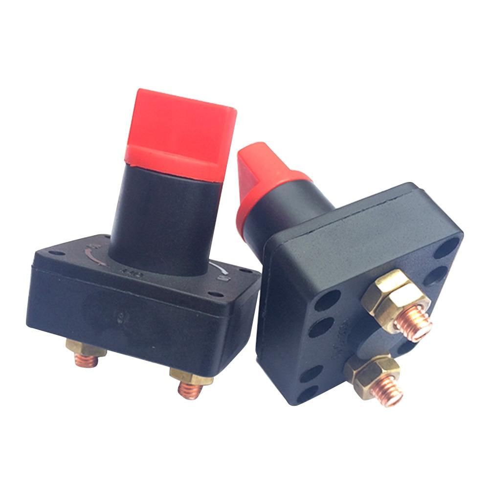 Disyuntor de batería rotatorio automático Universal DJSona, interruptor de apagado 100A para coche, barco, camión marino