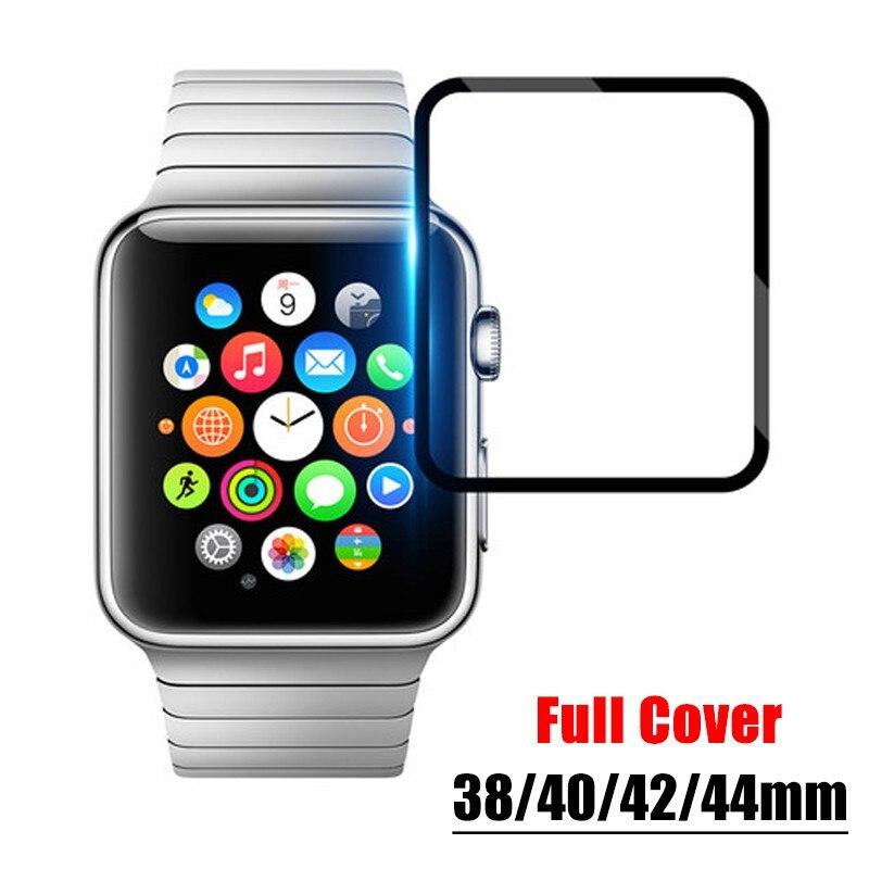 Protector de pantalla de película transparente cobertura completa película protectora no vidrio templado para Apple Watch4 3 2 1 38MM 42MM 40MM 44MM