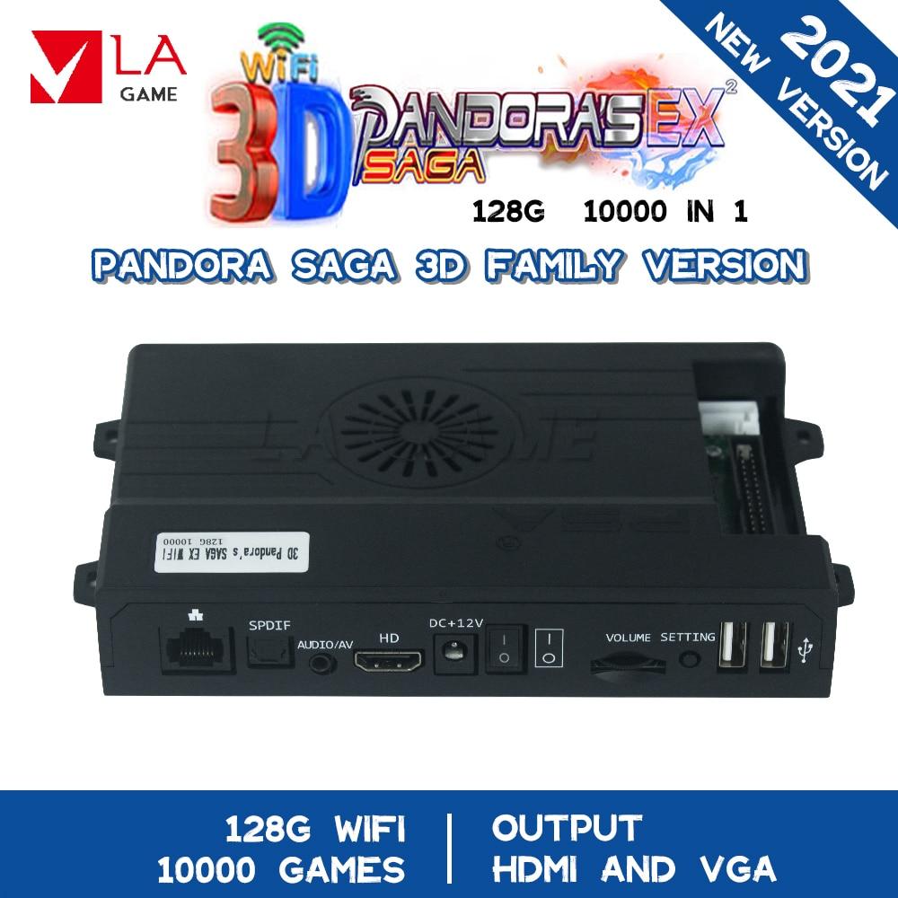 3a Games Maquina Recreativa Arcade Pandora Box Saga 3d 128g 10000 In 1 Neo Geo Mvs Console Wifi 8000 Usb