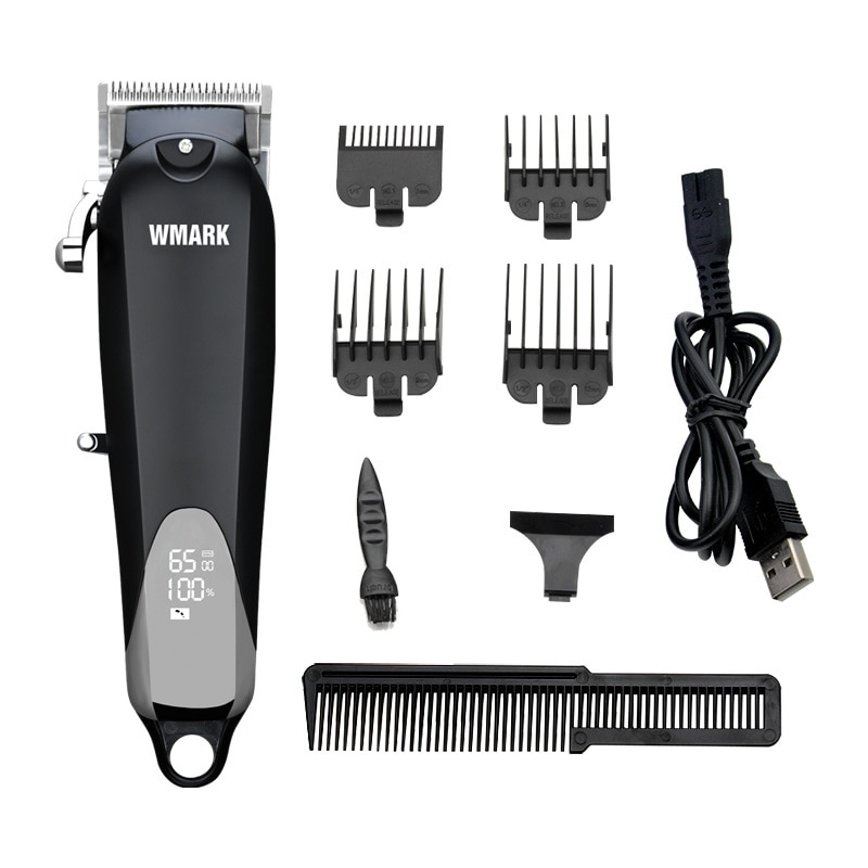 WMARK NG-103Plus Electric Hair Clipper  Professional Cordless Hair Clippers Adjustable Cutting Lever Men's Hair Trimmer 6500 rpm enlarge