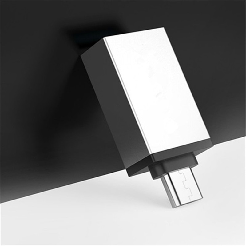 1 unidad Micro USB a USB 3,0 OTG Cable adaptador Micro convertidor portátil para Android Samsung Huawei Xiaomi Flash Drive teclado ratón