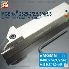 EDGEV MGEHR2525-2 MGEHR2525-3 MGEHR2525-4 MGEHR2525 2 3 4 5 MGEHL2525 CNC rainurage porte-outil outils de tournage MGMN300